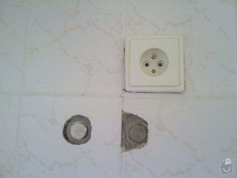 Opravy v koupelně po instalatéřích: 7