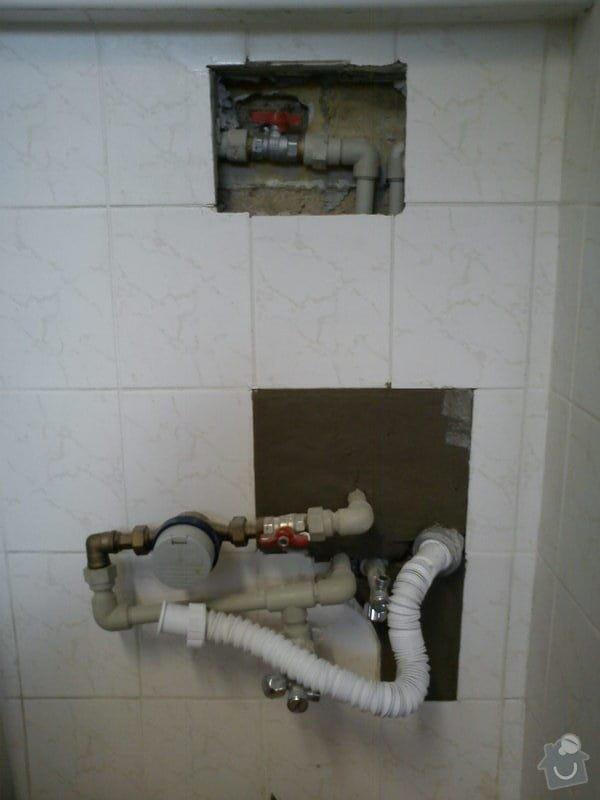 Opravy v koupelně po instalatéřích: 12