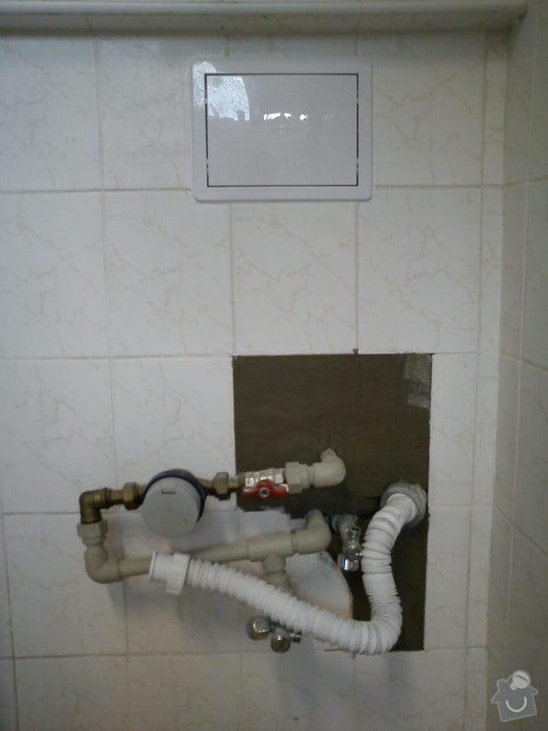 Opravy v koupelně po instalatéřích: 13