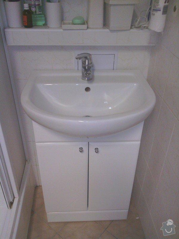 Opravy v koupelně po instalatéřích: 14