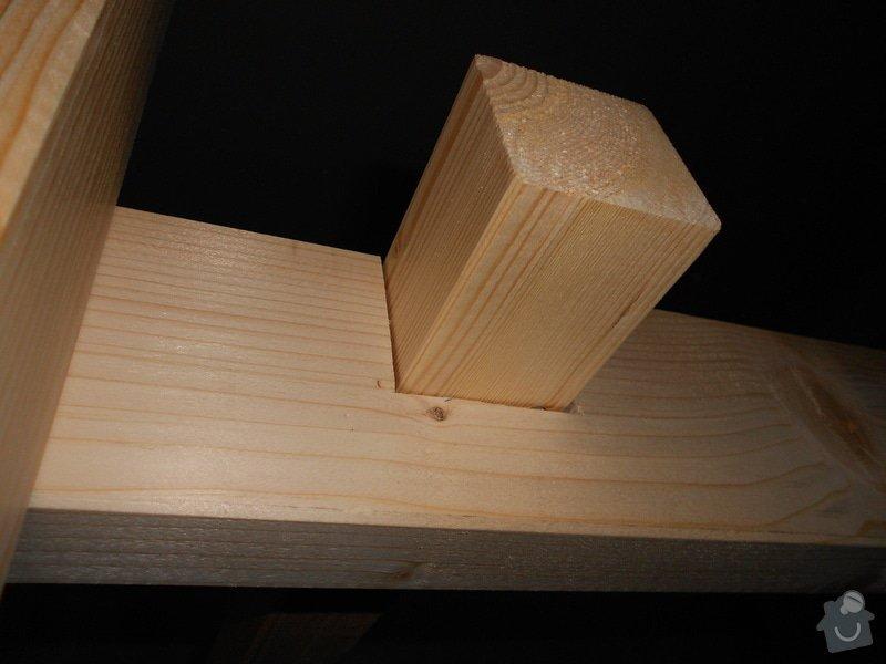Výroba a montáž patra na spaní: DSCN0602