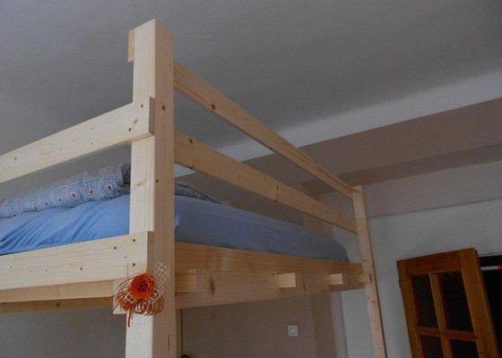 Výroba a montáž patra na spaní