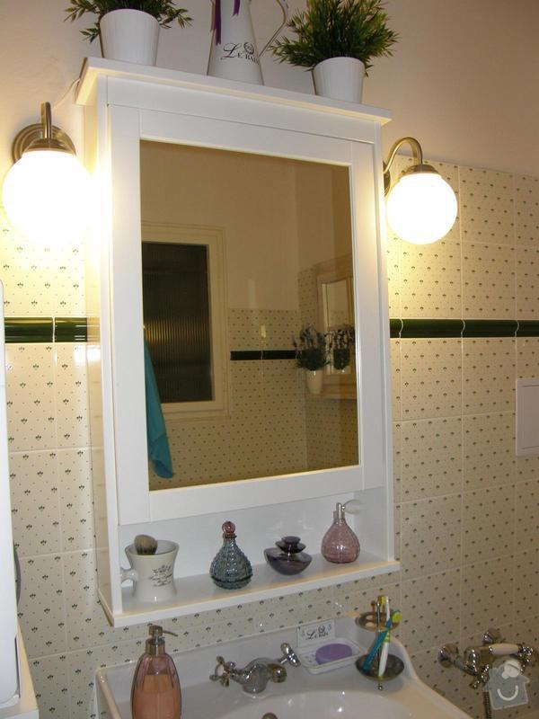 Obklad koupelny ,výměna umyvadla a vany včetně baterií: 49