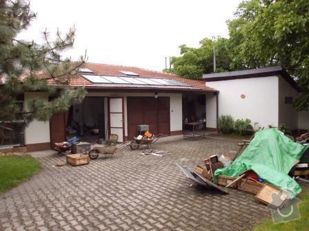 Přestavba garážové dílny na bytovou jednotku v RD: IMG_0183