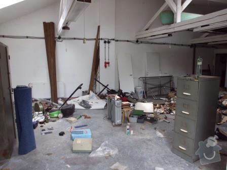 Přestavba garážové dílny na bytovou jednotku v RD: IMG_0185