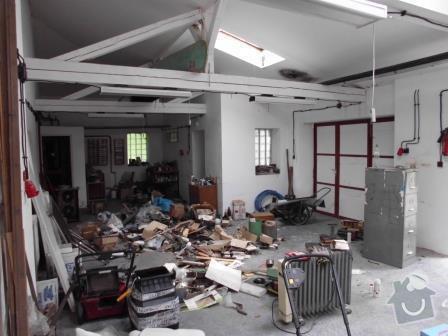 Přestavba garážové dílny na bytovou jednotku v RD: IMG_0187