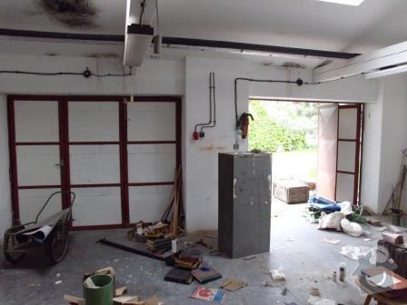 Přestavba garážové dílny na bytovou jednotku v RD: IMG_0188