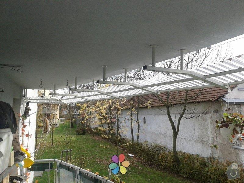 Úprava balkonové stříšky: 20131030_110005