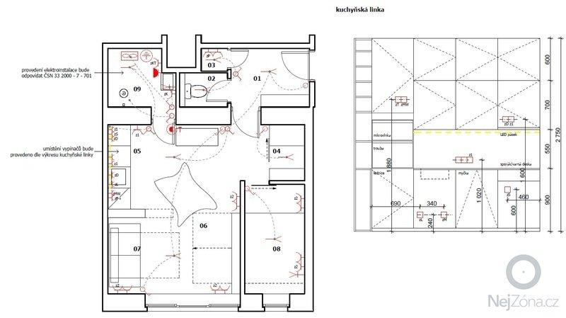 Rekonstrukce koupelny a wc: elektro