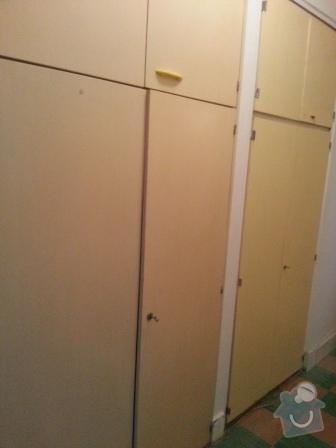 Malířské práce (3 pokoje a chodba) plus natření topení, futer, vestavěných skříní: 20131030_143126