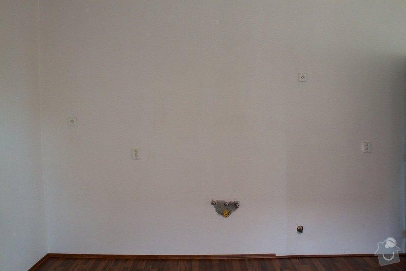 Rekonstrukce elektroinstalace v kuchyni: rozvody-odpad-vychod-kuchyne