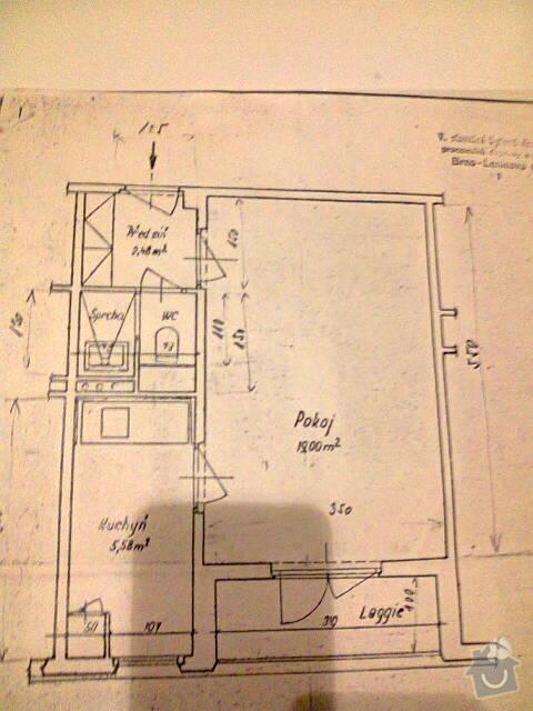 Rekonstrukce koupelny v panelovém bytě: Fotografie0011