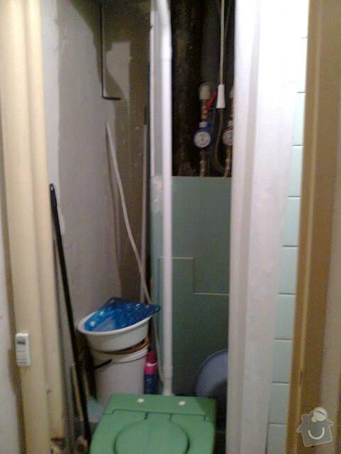 Rekonstrukce koupelny v panelovém bytě: Fotografie0009