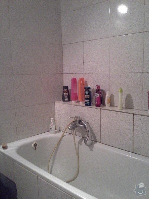Rekonstrukce koupelny, WC a vymena stoupacek v Praze 9: WP_000311