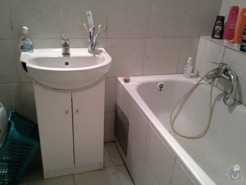 Rekonstrukce koupelny, WC a vymena stoupacek v Praze 9: WP_000312