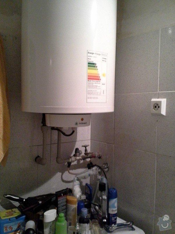 Rekonstrukce koupelny, WC a vymena stoupacek v Praze 9: WP_000313
