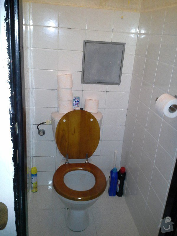 Rekonstrukce koupelny, WC a vymena stoupacek v Praze 9: WP_000316