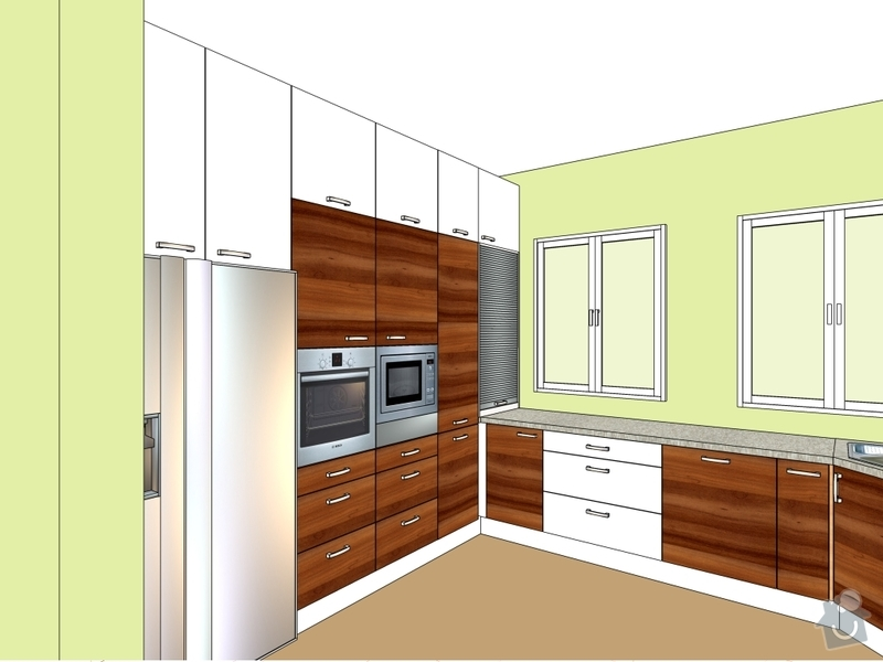 Kuchyňská linka: p.Jirousek_Ritka1