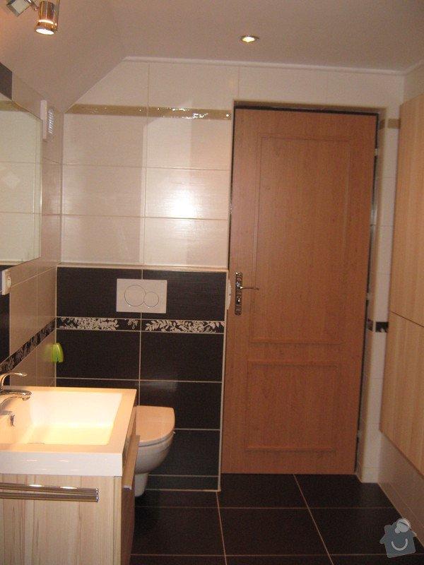 Rekonstrukce koupelny, záchodu+nová druhá koupelna se záchodem: IMG_4168
