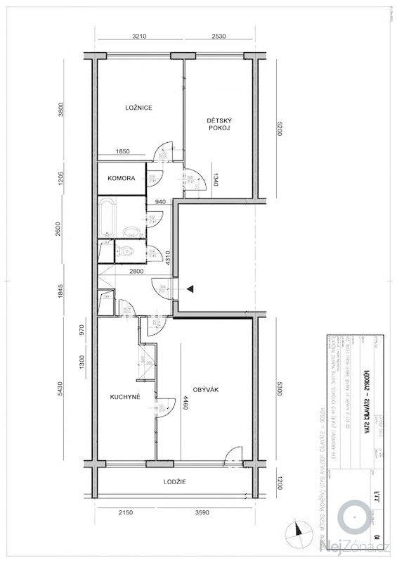 Zednické, podlahářské a instalatérské práce v bytě 3+1 v panelovém domě: a