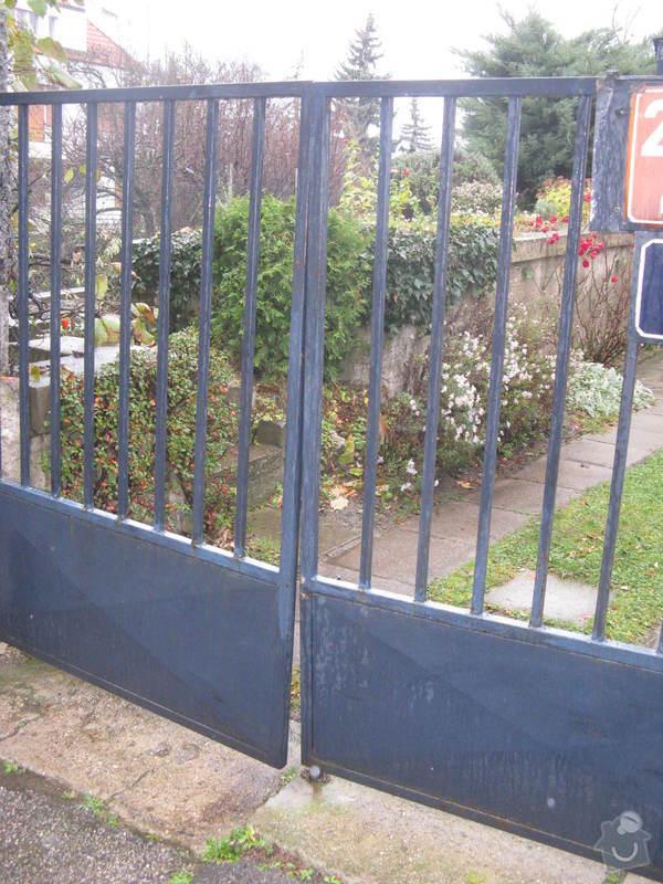 Zámečnické práce - oprava vjezdových vrat: vrata_hnizdil2