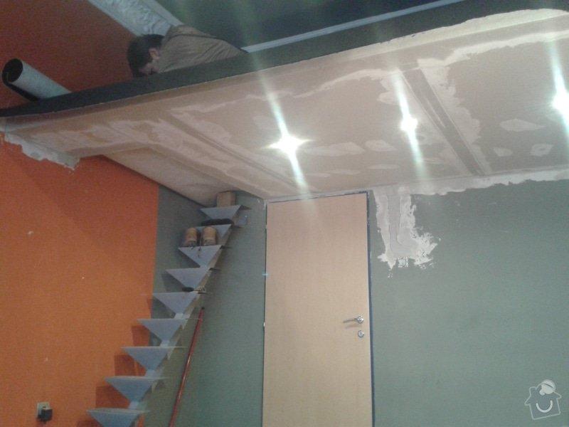 Patro na spaní, schody,osvětlení,zábradlí, podium.: 20131026_154801