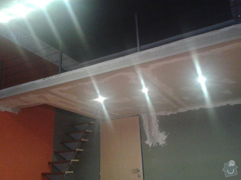 Patro na spaní, schody,osvětlení,zábradlí, podium.: 20131026_163120