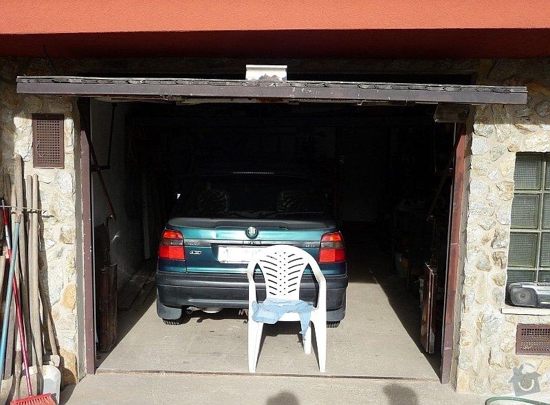 Garážová vrata sekční: garaz