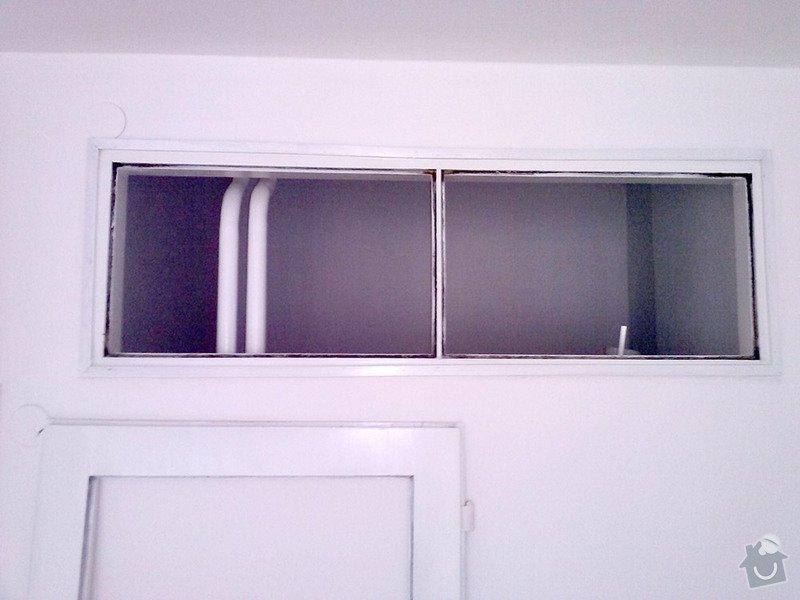 Zasklení 2x dveří a 4x průhledu v bytě: zaskleni-1