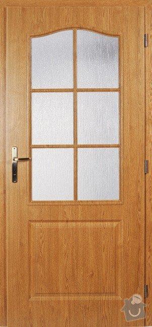 Interiérové dveře: dvere