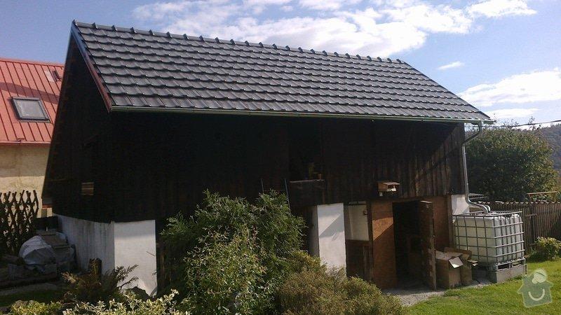 Zhotovení střechy: 2013-10-02-384