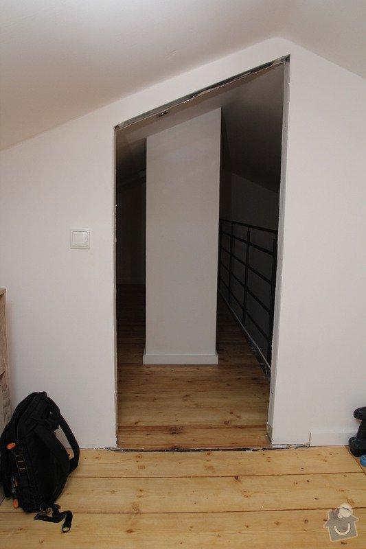 Výroba atypických bílých interiérových dveří: vnitrni_pohled