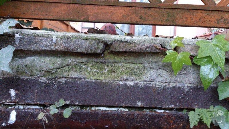 Okapničku pod kámen na terase -klempíř: spodni_pohled_vstup_do_sklepa