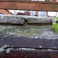 Okapnicku pod kamen na terase klempir spodni pohled vstup do sklepa