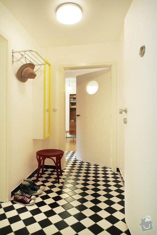 Návrh interiéru funkcionalistického bytu : 01