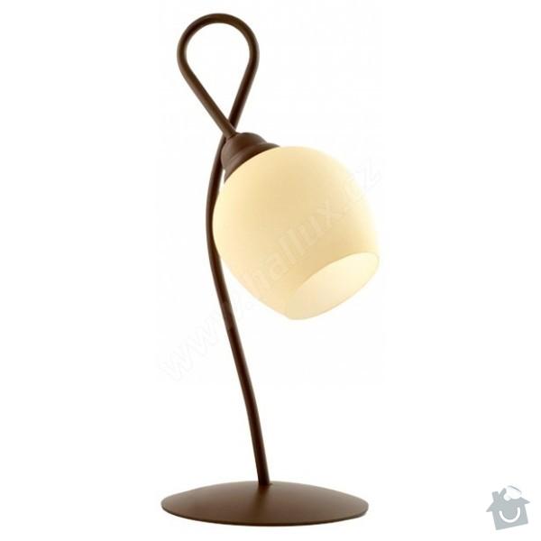 Vyrobu stinitka na stolní lampy : lampicka