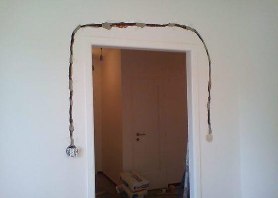 Rozvod elektřiny pro kuchyňskou linku