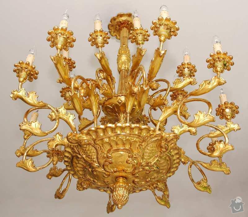 Elektrifikace barokního lustru: lustr_3