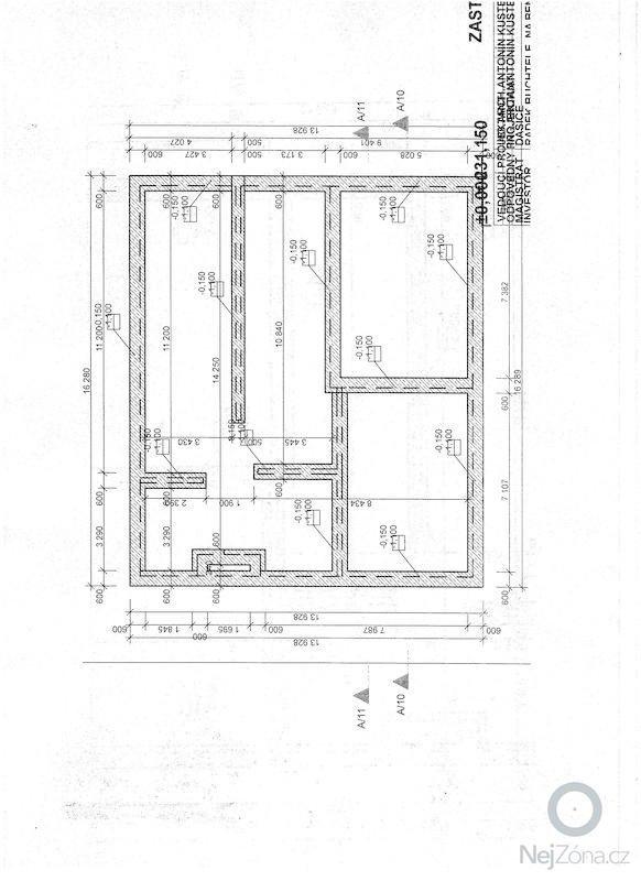 Zhotovení základové desky: zaklady