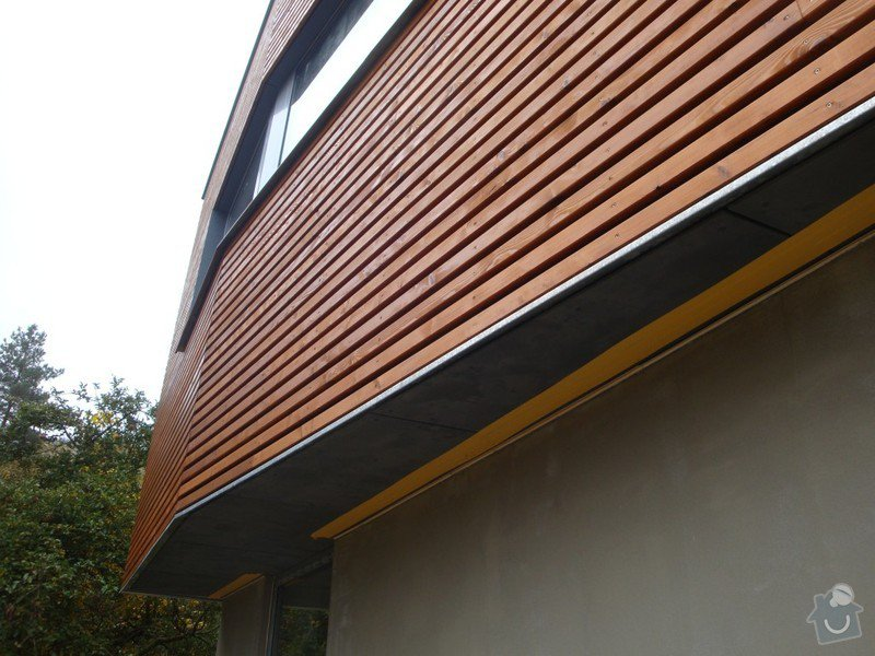 Zateplení a obklad domu: DSC03365