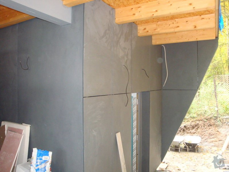 Zateplení a obklad domu: DSC03361