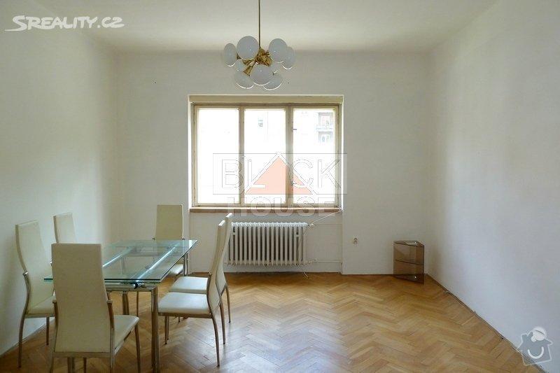 Úklid bytu 80m2 po malování: byt11