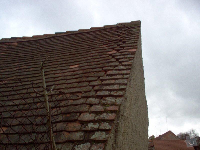 Prohlídka a oprava střechy stodoly: Strecha_St1