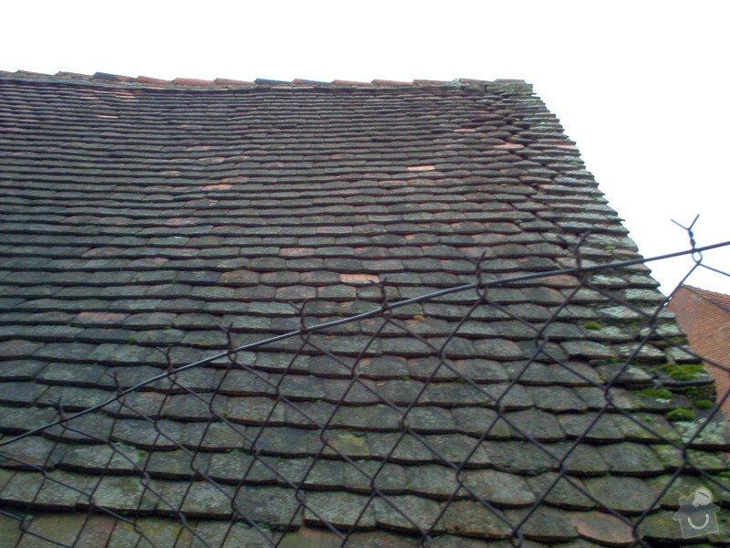Prohlídka a oprava střechy stodoly: Strecha_St2