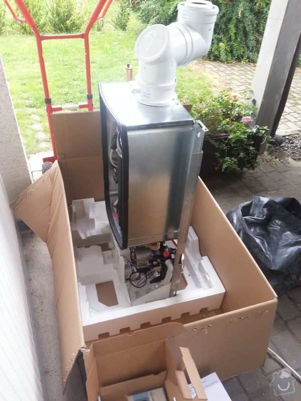 Montáž kondenzačního kotle Cerapur ACU: 2013-09-09_11.50.09