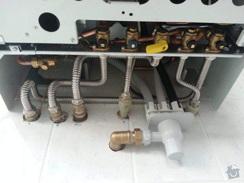 Montáž kondenzačního kotle Cerapur ACU: 2013-09-09_15.07.31