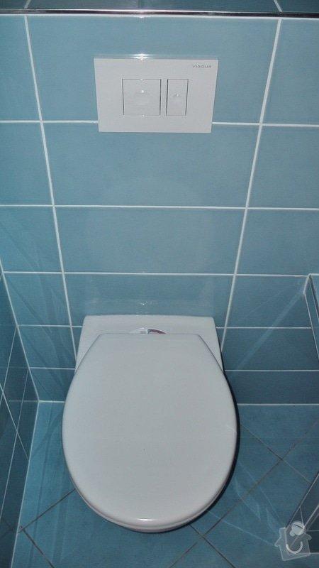 Kompletní rekonstrukce koupelny a toalety: 192-06