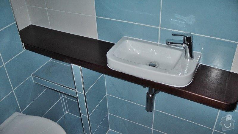 Kompletní rekonstrukce koupelny a toalety: 192-07