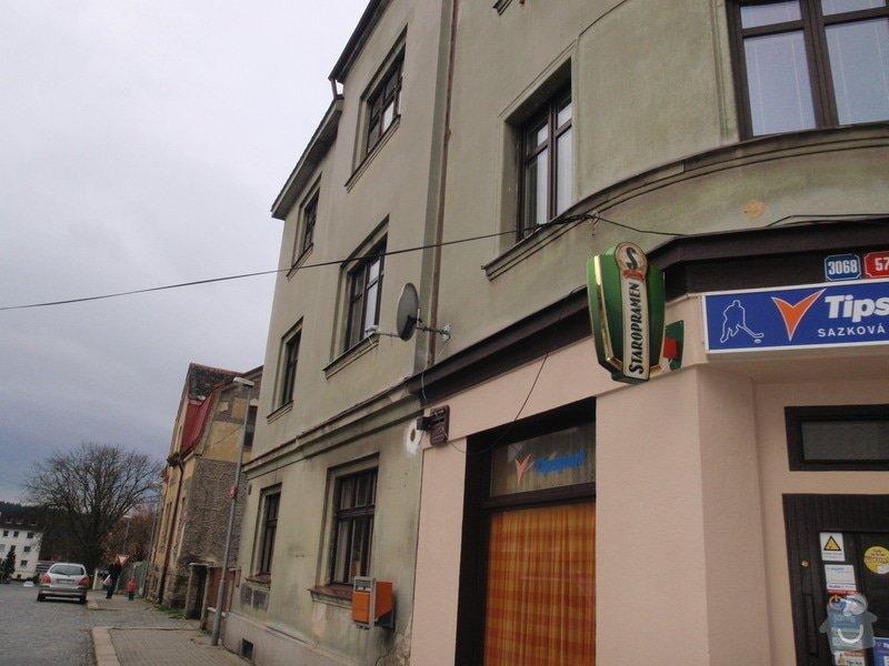 Fasádu bytového domu: PB080299