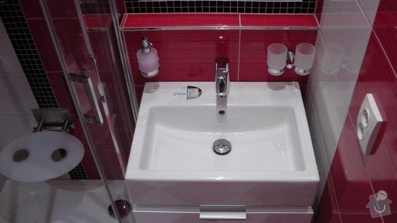 Kompletní rekonstrukce koupelny a toalety dle požadavku: S1840017